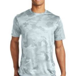 Unisex CamoHex Poly T-Shirt Thumbnail