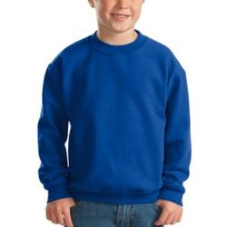 Youth Heavy Blend Crewneck Sweatshirt Thumbnail